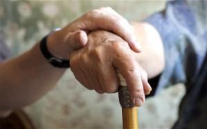 helping w cane